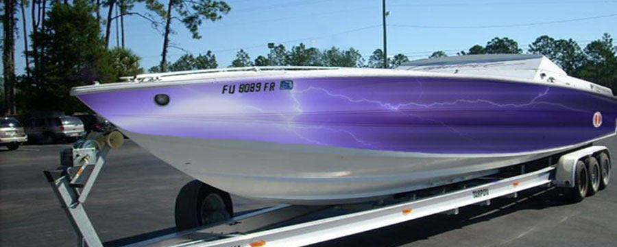 Boat Wraps Michigan Boat Decals Numbers Lettering