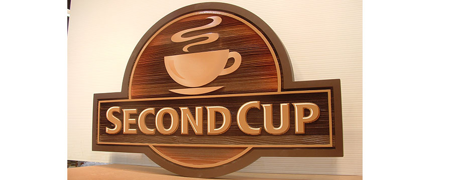 Custom  indoor coffee sign