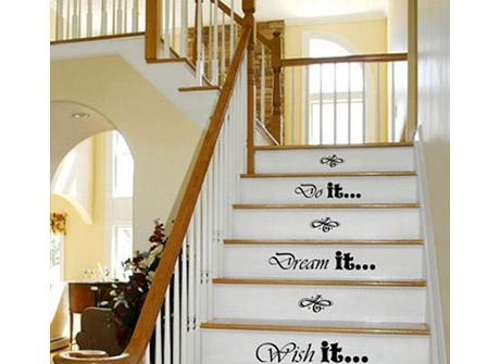 Graphics for stair steps