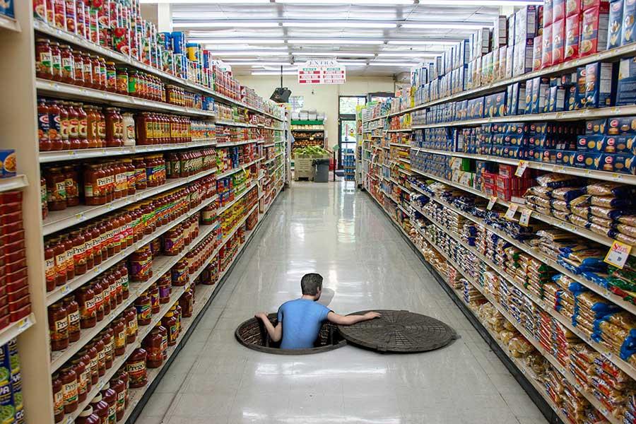 Floor graphics columbus ohio floor decals elephant for 3d store layout design software