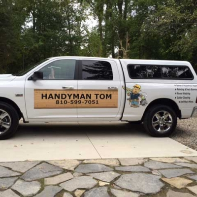 truck wrap for handyman