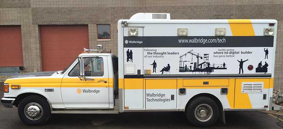 Vehicle Wraps Detroit Truck Wraps Building Wraps