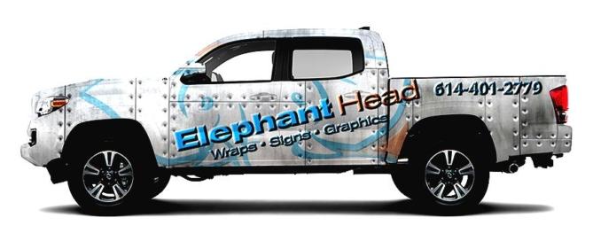Vehicle Wraps Archives Elephant Head Graphics