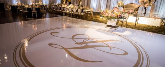 Wedding dance Floor Decals