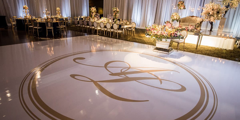 Custom Wedding Dance Floor Wraps Serving Columbus Ohio