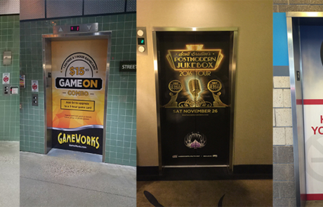 Elevator Wraps  Columbus, OH – Take advantage of high traffic, underutilized real estate by refacing your elevators with wraps.