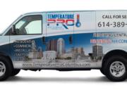HVAC Vehicle wraps columbus ohio