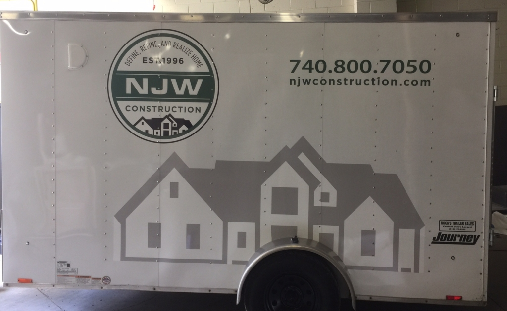 vinyl graphics for trailers columbus ohio