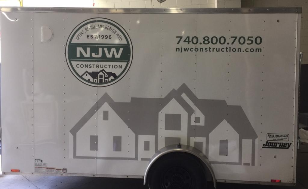 vinyl graphics for trailers columbus ohio