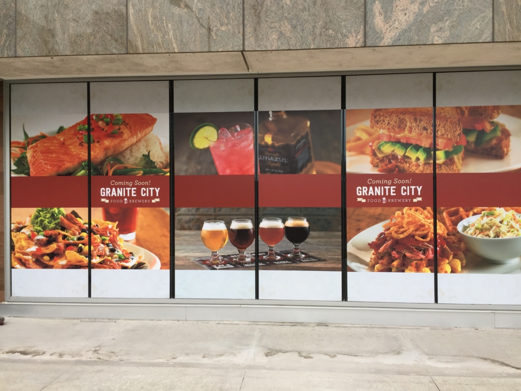 Window Graphics For Restaurants Columbus Ohio Jazz Up