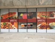 Window graphics for restaurant columbus ohio