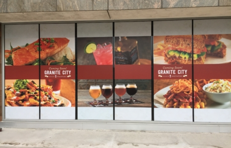 Window Graphics for restaurants Columbus ohio – Jazz up your windows with vinyl window graphics