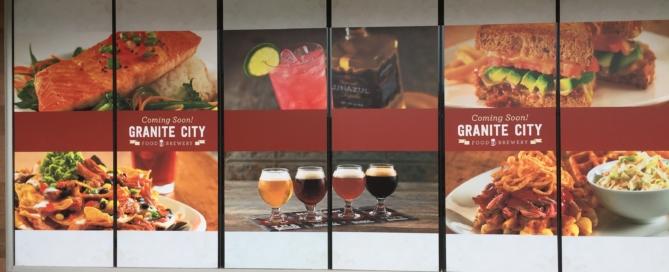 Window graphics for restaurant columbus ohio