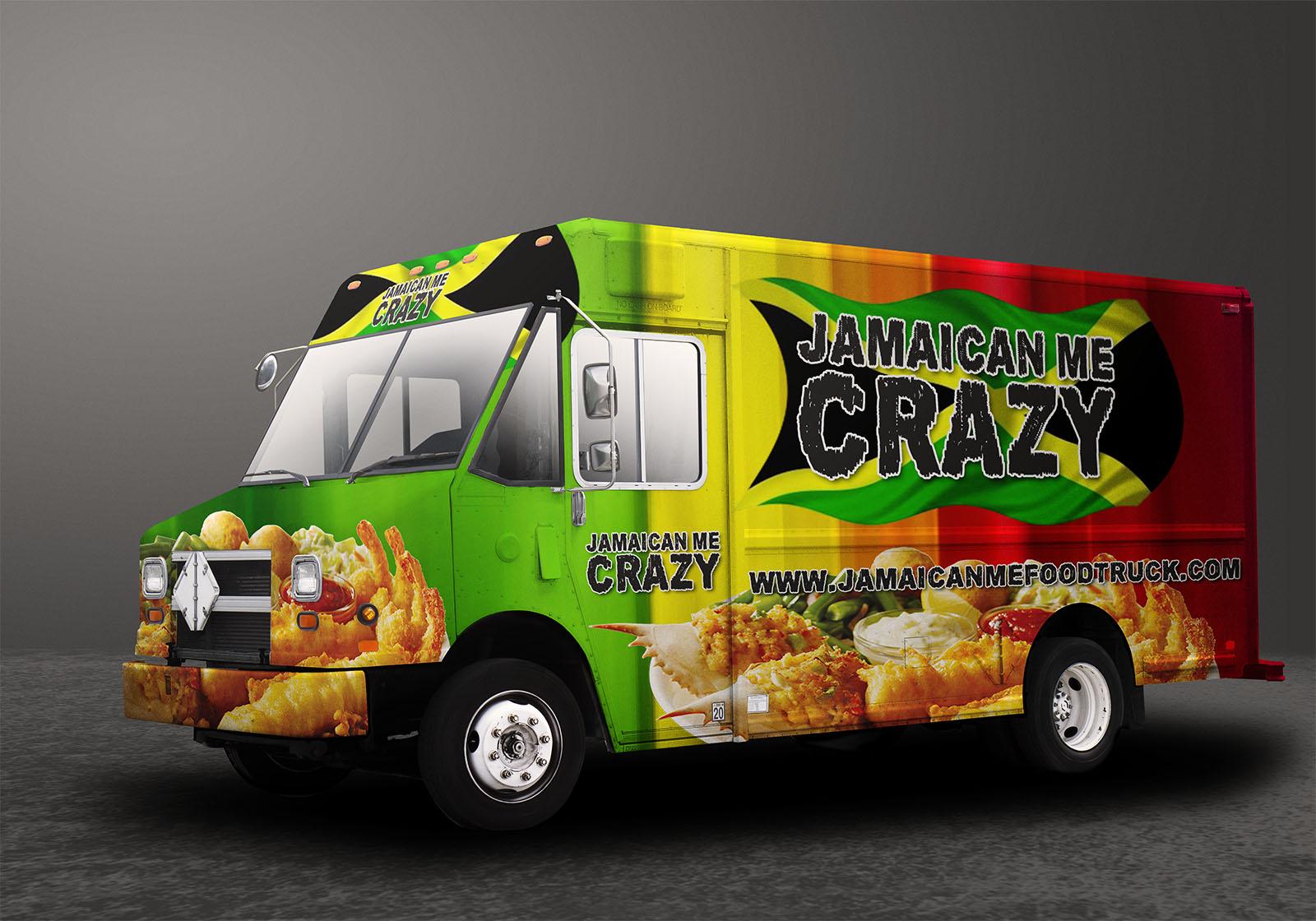 jamaica food truck wrap columbus ohio